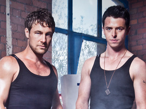 Marc Baylis (Rob Donovan) and Sol Heras (Ryan Connor)