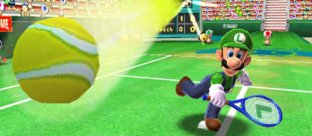 &#39;Mario Tennis Open&#39; screenshot