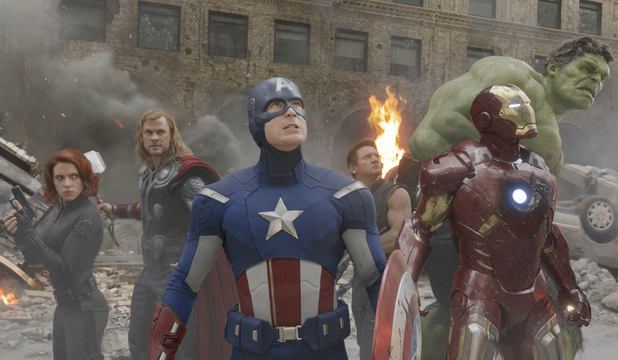 The Avengers group shot