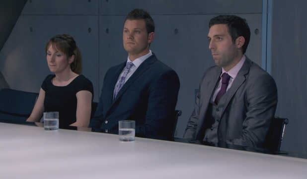 The Apprentice Episode 9: Jenna, Ricky and Stephen in the Boardroom