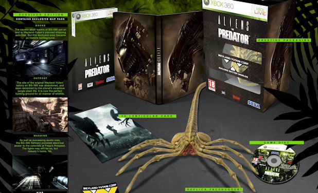 Alien V Predator Hunter's edition bundle
