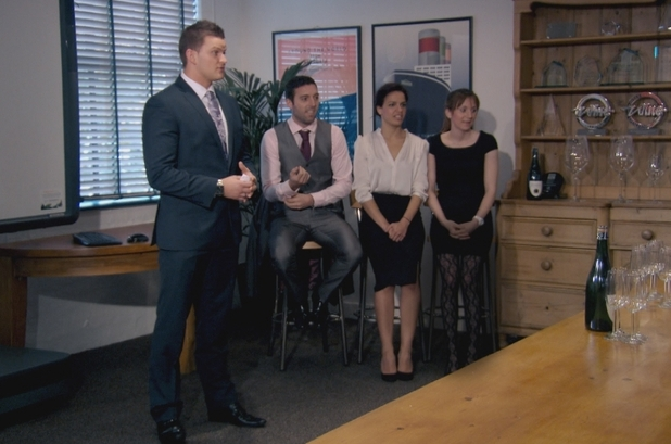 The Apprentice S08E09: Ricky Martin, Stephen Brady, Gabrielle Omar, Jenna Whittingham