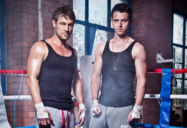 Marc Baylis (Rob Donovan) and Sol Heras (Ryan Connor)