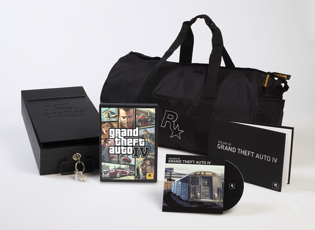GTA IV collector's edition bundle