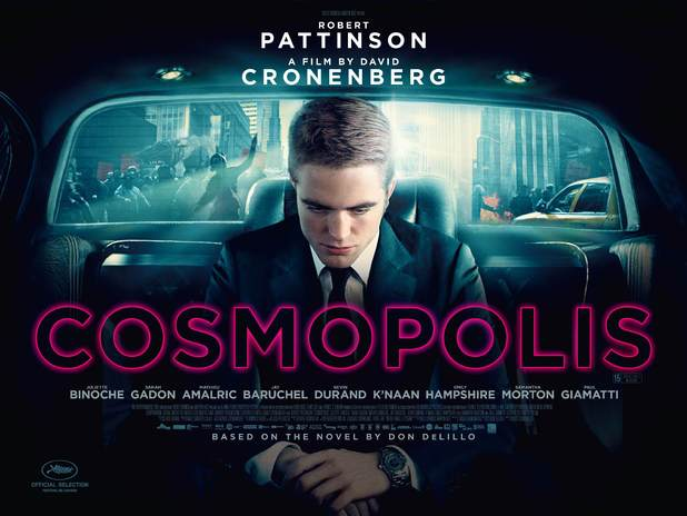 Robert Pattinson Cosmopolis poster