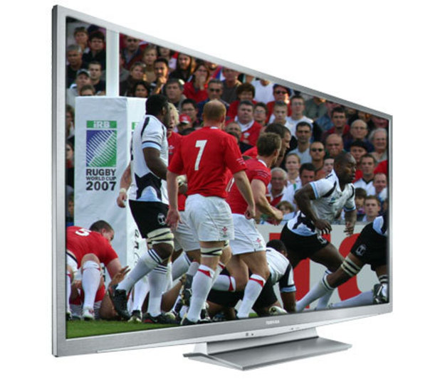 The company ends its domestic production of flat-panel television sets.