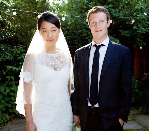Mark Zuckerberg & Priscilla Chan wedding