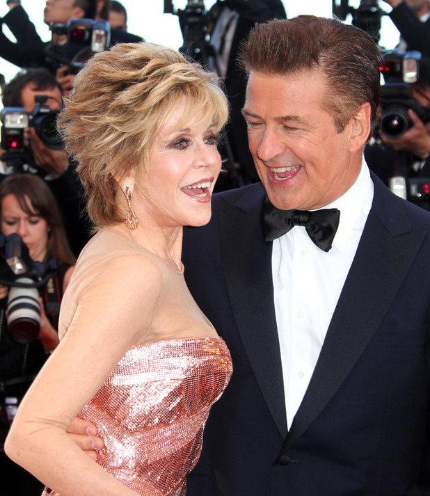 Jane Fonda and Alec Baldwin