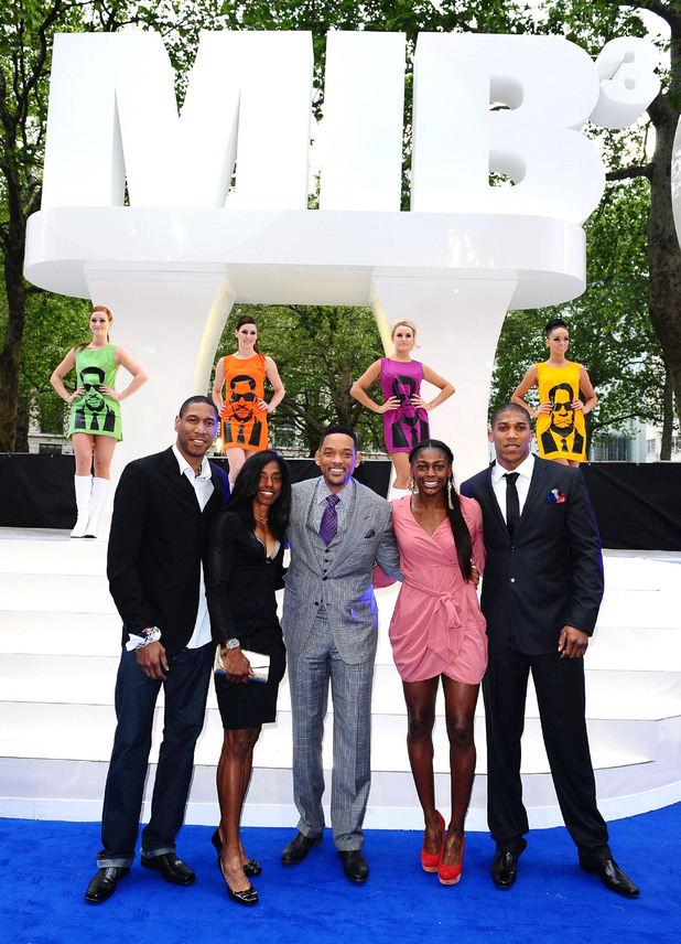 Will Smith, Drew Sullivan, Perri Shakes-Drayton, Yamile Aldama and Anthony Joshua