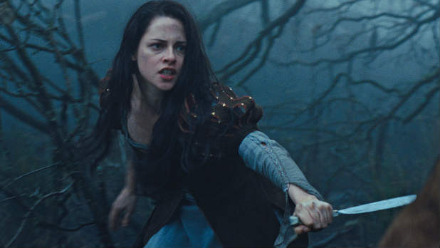Kristen Stewart stars in the new trailer for 'Snow White and the Huntsman'.