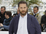 Tom Hardy arrives for the Lawless photocall.