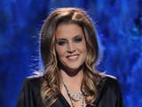 Lisa Marie Presley performs on the 'American Idol' semi-final