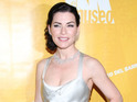 Julianna Margulies pokes fun at her former ER co-star George Clooney.