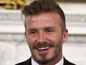 David Beckham speaks of his excitement about seeing The Stone Roses perform.