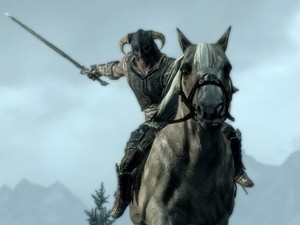 &#39;The Elder Scrolls V: Skyrim&#39; mounted combat image