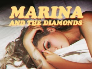 Marina and the Diamonds 'Power & Control' artwork