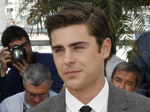 Zac Efron poses during a photo call for The Paperboy at the 65th international Cannes Film Festival
