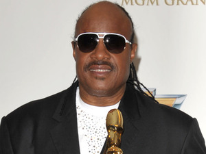 Stevie Wonder poses in the press room at the 2012 Billboard Awards at the MGM Grand, Las Vegas