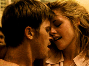 'On The Road' still: Kristen Stewart and Garrett Hedlund