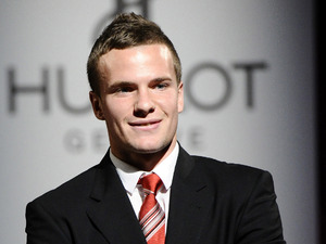 Manchester United footballer Tom Cleverley