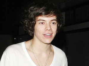 Harry Styles is spotted leaving Embassy nightclub in London