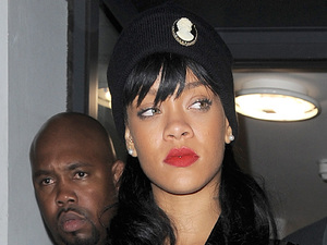 Rihanna is seen leaving Boujis nightclub in Kensington, London in the early morning after partying with members of the Chelsea FC football team