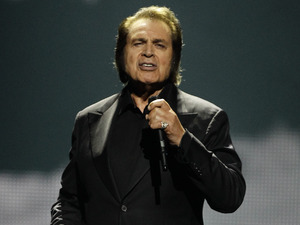 Eurovision Song Contest 2012: United Kingdom's Engelbert Humperdinck.