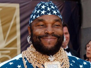 Mr T at the 75th Anniversary of NBC TV at the Rockefeller Centre, 2002