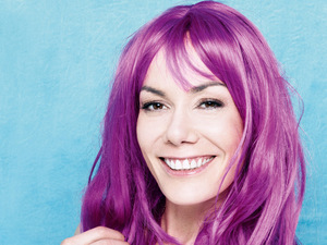 &#39;Wig Wednesday&#39; campaign posters: Tara Palmer Tomkinson