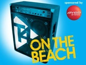 T4 on the beach logo