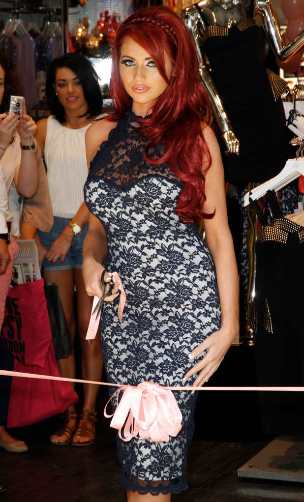 Amy Childs launching her new clothing line at