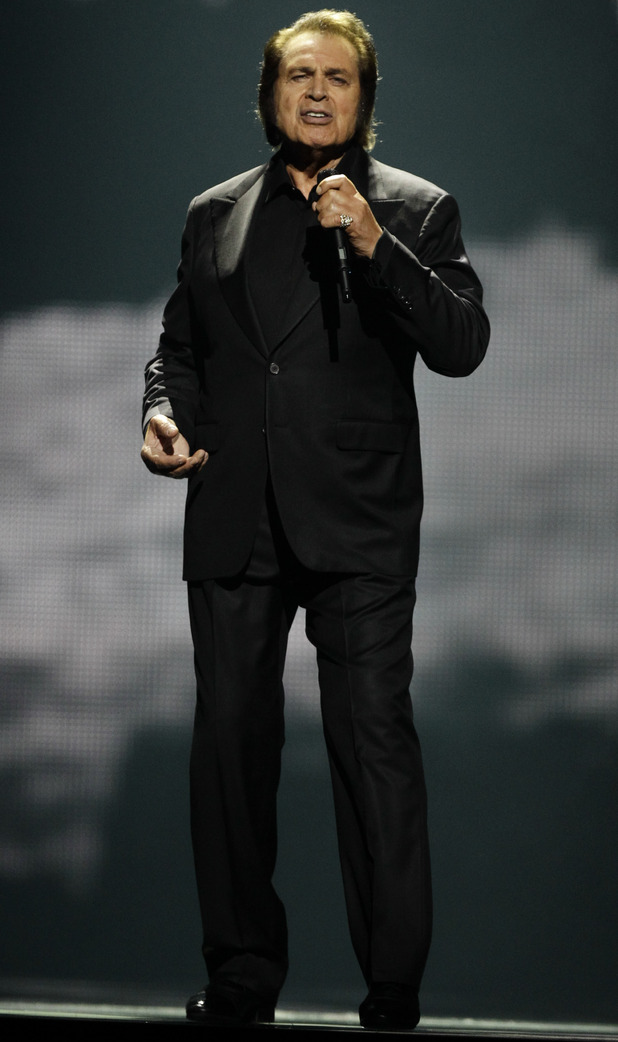 Eurovision Song Contest 2012: United Kingdom's Engelbert Humperdinck