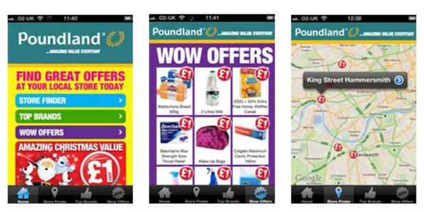Poundland App screenshot