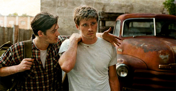 Garrett Hedlund and Sam Riley
