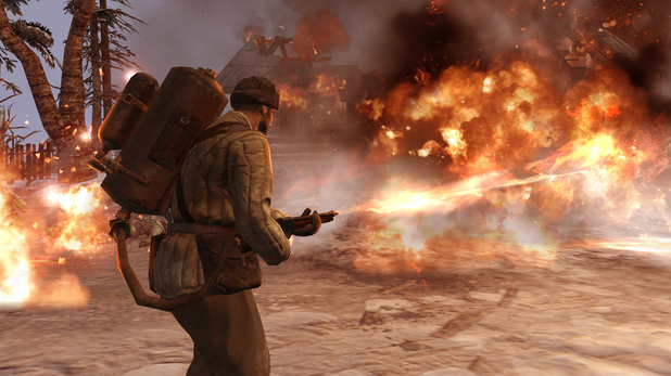 Company of Heroes 2: Flamethrower