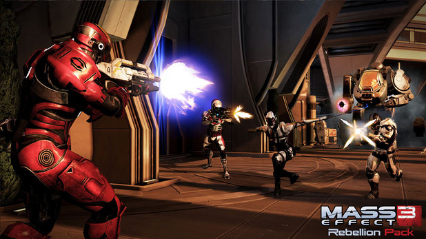 Mass Effect 3 - rebellion pack