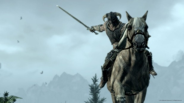 'The Elder Scrolls V: Skyrim' mounted combat image