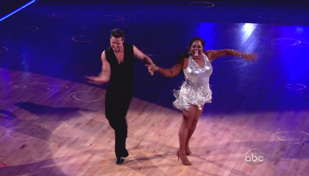 Val Chmerkovskiy and Sherri Shepherd ABC's Dancing with the Stars Season 14, Finale part 2 Kelly Clarkson and Gladys Knight perform; The cast returns to dance once more and the season 14 winner is announced after the finalists peform their final dances of the season USA - 22.05.12 Supplied by WENN.comWENN does not claim any ownership including but not limited to Copyright or License in the attached material. Any downloading fees charged by WENN are for WENN's services only, and do not, nor are they intended to, convey to the user any ownership of Copyright or License in the material. By publishing this material you expressly agree to indemnify and to hold WENN and its directors, shareholders and employees harmless from any loss, claims, damages, demands, expe