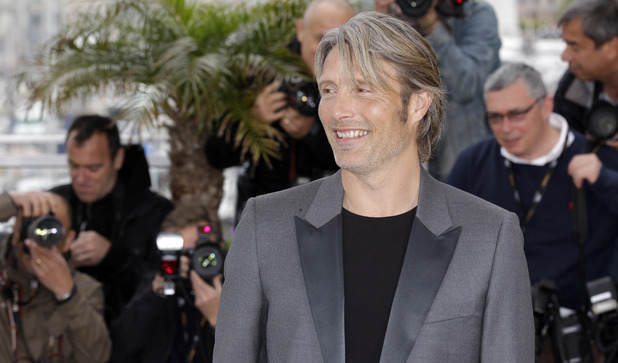 Mads Mikkelsen at the Cannes Film Festival 2012