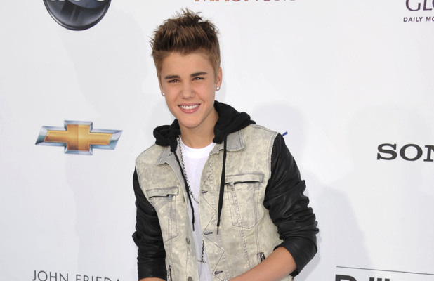 Justin Bieber arriving at the 2012 Billboard Awards at the MGM Grand, Las Vegas