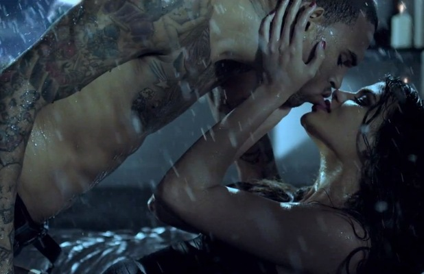 Chris Brown in 'Sweet Love' music video.