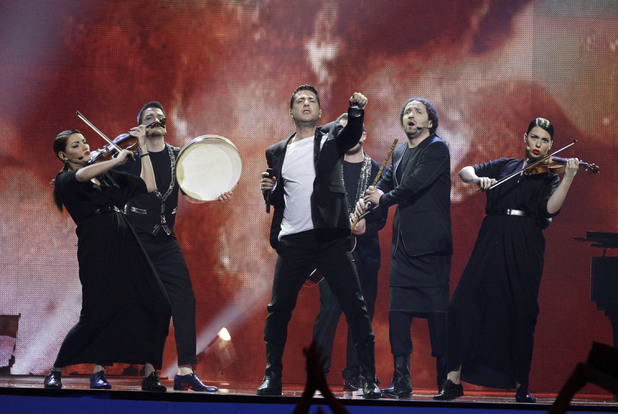 Eurovision Song Contest 2012: Serbia's Zeljko Joksimovic