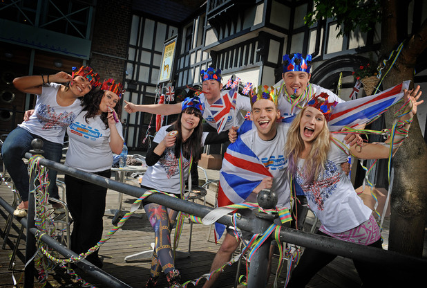 Hollyoaks cast support the Big Jubilee Lunch