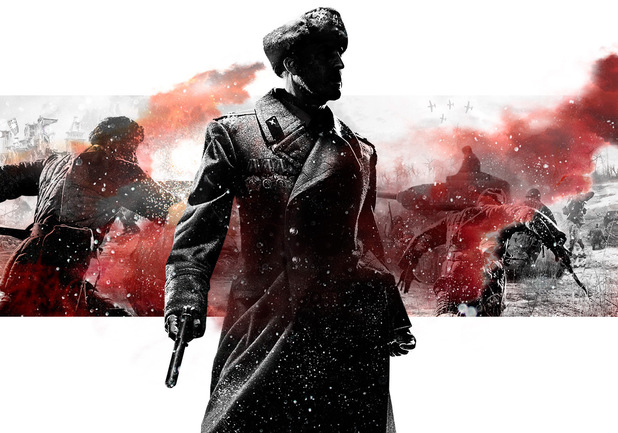 'Company of Heroes 2' key art