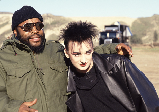Mr T and Boy George