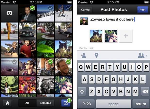 Facebook Photo App