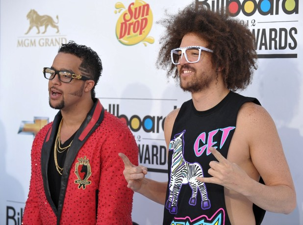 LMFAO, Billboards 2012