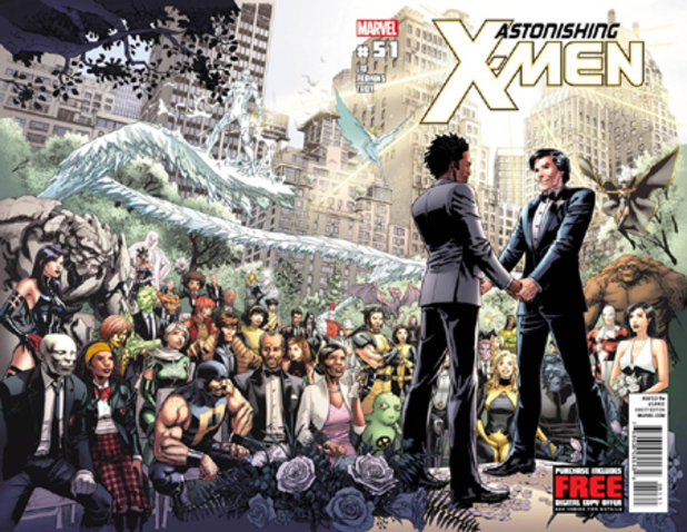X-men same sex marriage