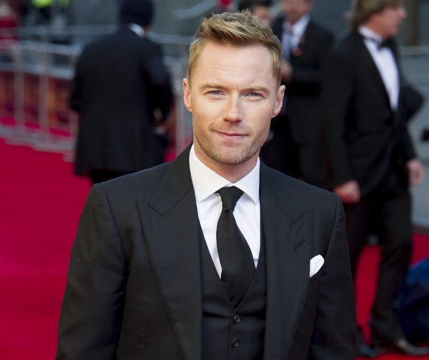 Ronan Keating at the Olivier Awards, April 2012