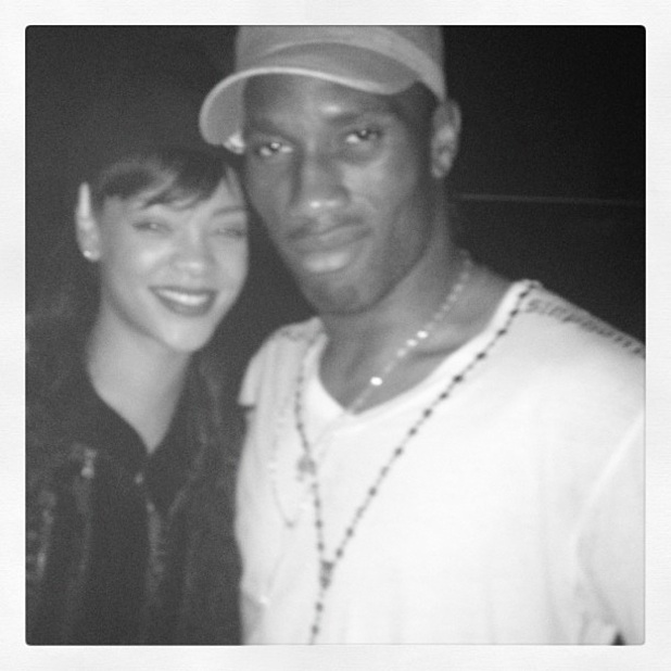 Rihanna and Drogba